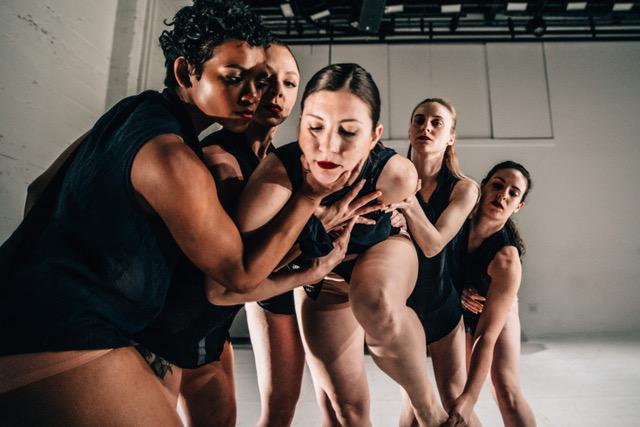 Ka.nei.see _ collective  Photo by Robbie Sweeny  dancers Clarissa Dyas  Rebecca Morris  Mallory Markham  Madeline Matuska  Vera Schwegler