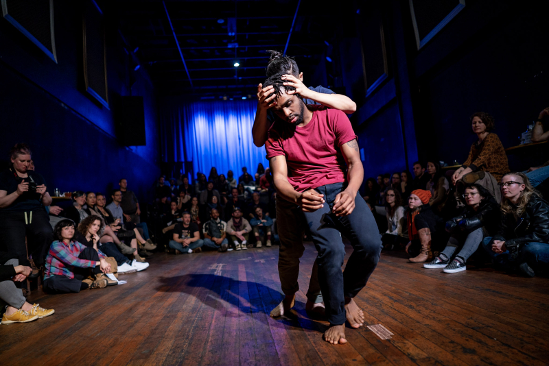 Dazaun Soleyn and Hien Huyh. Photo by Hans Holtan.