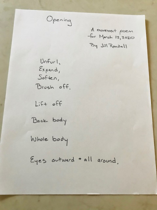 Opening poem