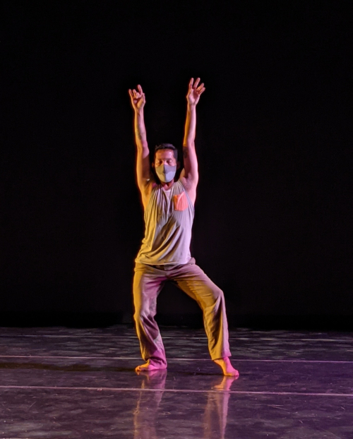 Victor Talledos in EPOCH. Photo by John Hill