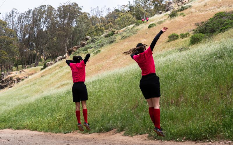 Samuel Melecio-Zambrano (left) and Katherine Neumann (right). Photo by Robbie Sweeny.